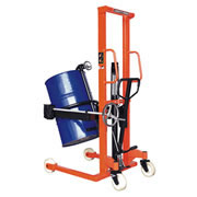 Drum carrier - turning device