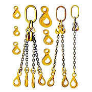 Grade 80 chain slings and components