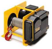Yale electric winch